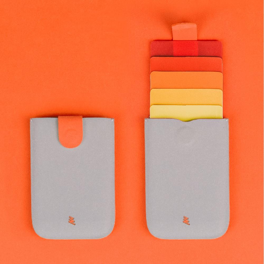 Allocacoc |dax V2 卡片收藏夾 - 橘色