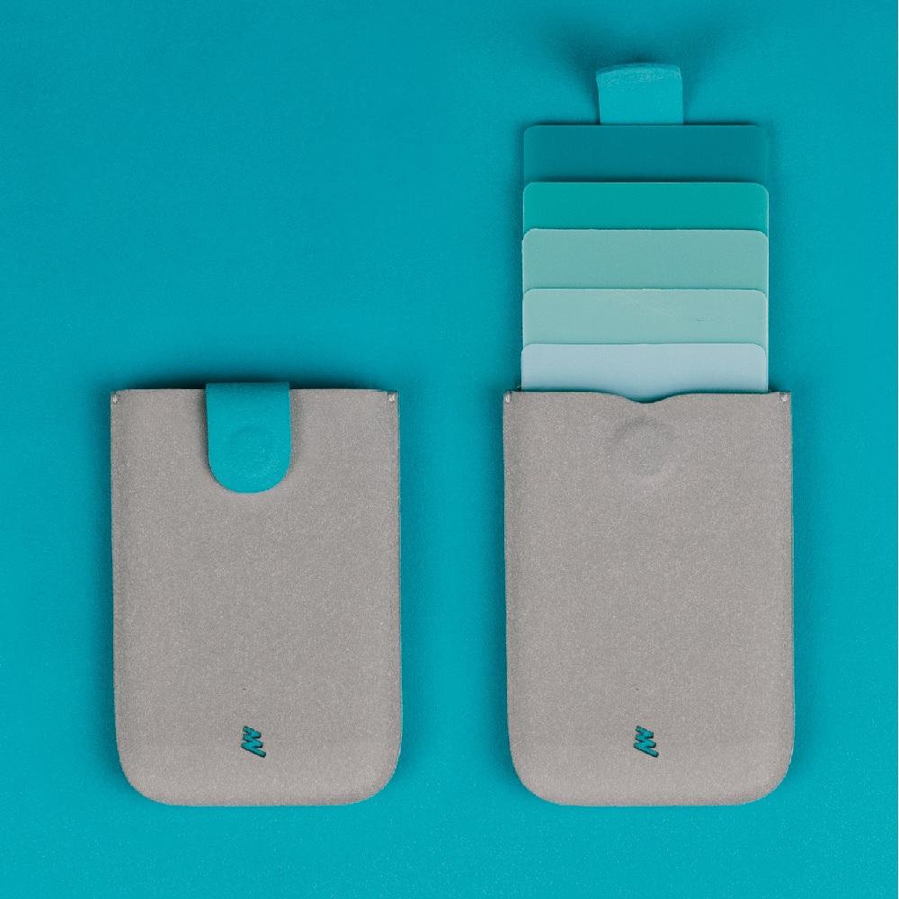 Allocacoc  dax V2 卡片收藏夾 - 青色