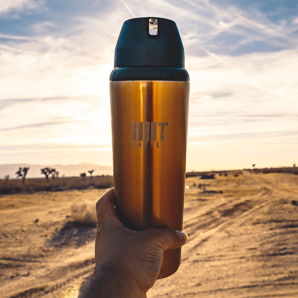 Hiit Bottle   極限健身水瓶 - 古銅金( 簡配版 )