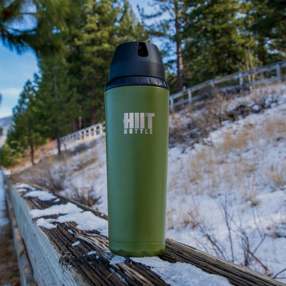 Hiit Bottle | 極限健身水瓶 - 野戰綠( 簡配版 )
