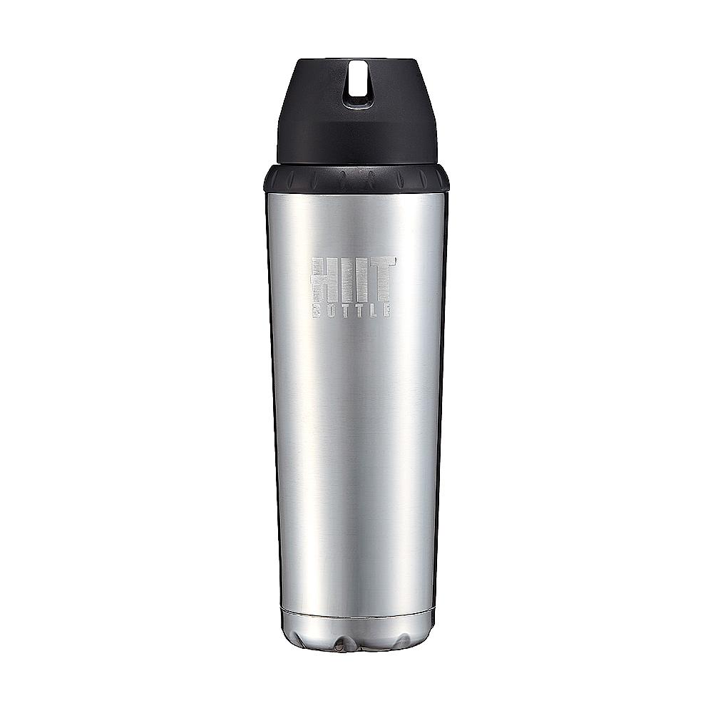 Hiit Bottle | 極限健身水瓶 - 金屬銀( 簡配版 )