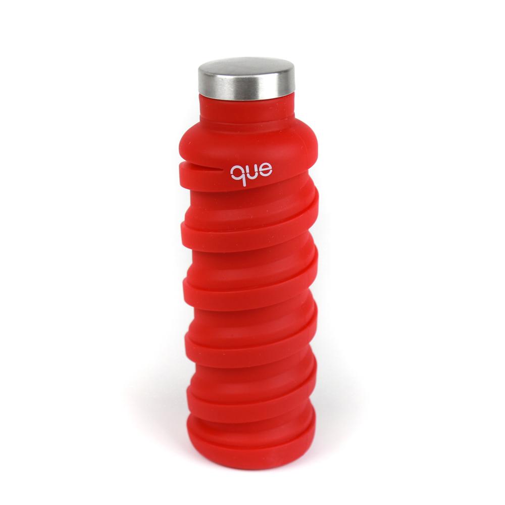 que Bottle|伸縮水瓶(355ml) - 魔力紅