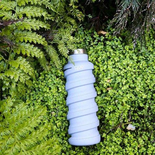 que Bottle|伸縮水瓶(355ml) - 極簡灰