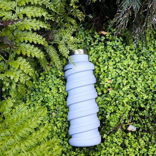 que Bottle 伸縮水瓶(355ml) - 極簡灰