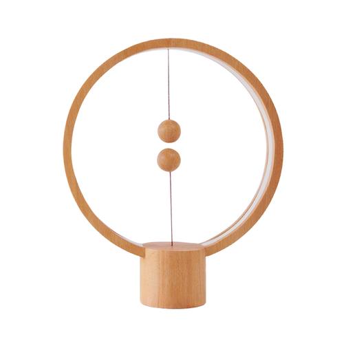 Allocacoc Heng Balance Lamp 衡 原木燈 - 淺色圓形