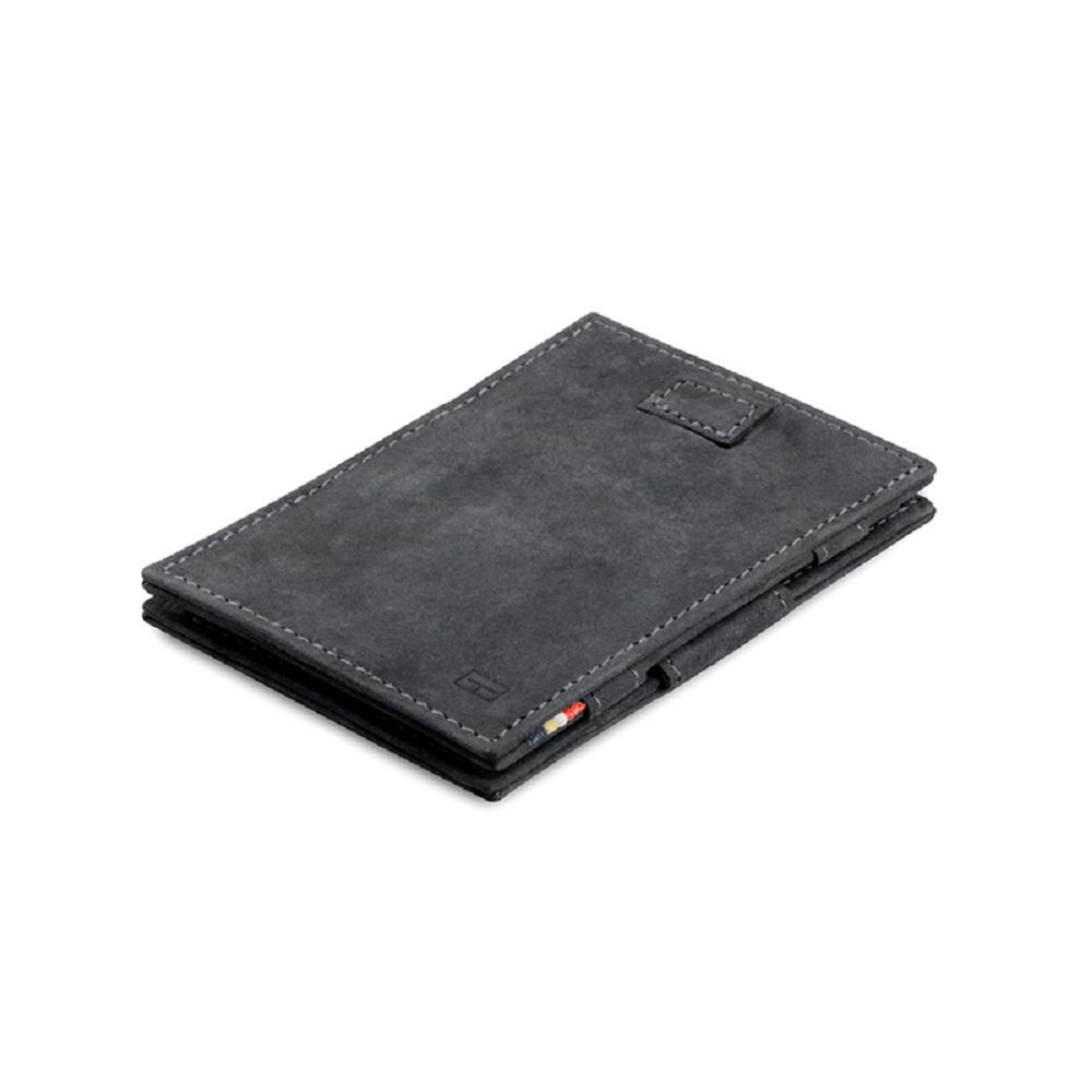 GARZINI|比利時翻轉皮夾 - 抽取款 - 鐵灰色
