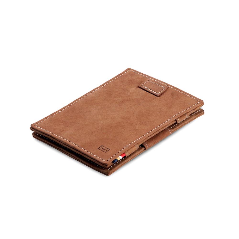 GARZINI|比利時翻轉皮夾 - 抽取款 - 淺棕色