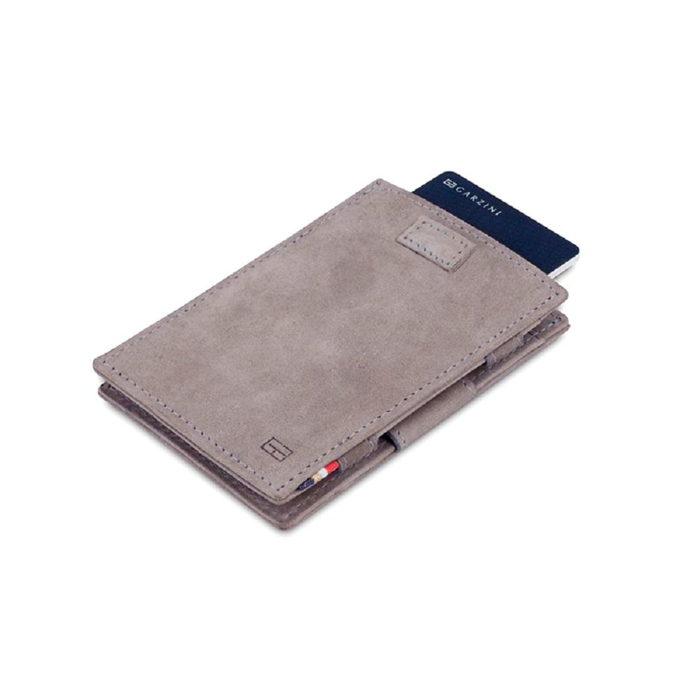 GARZINI|比利時翻轉皮夾 - 抽取款 - 淺灰色