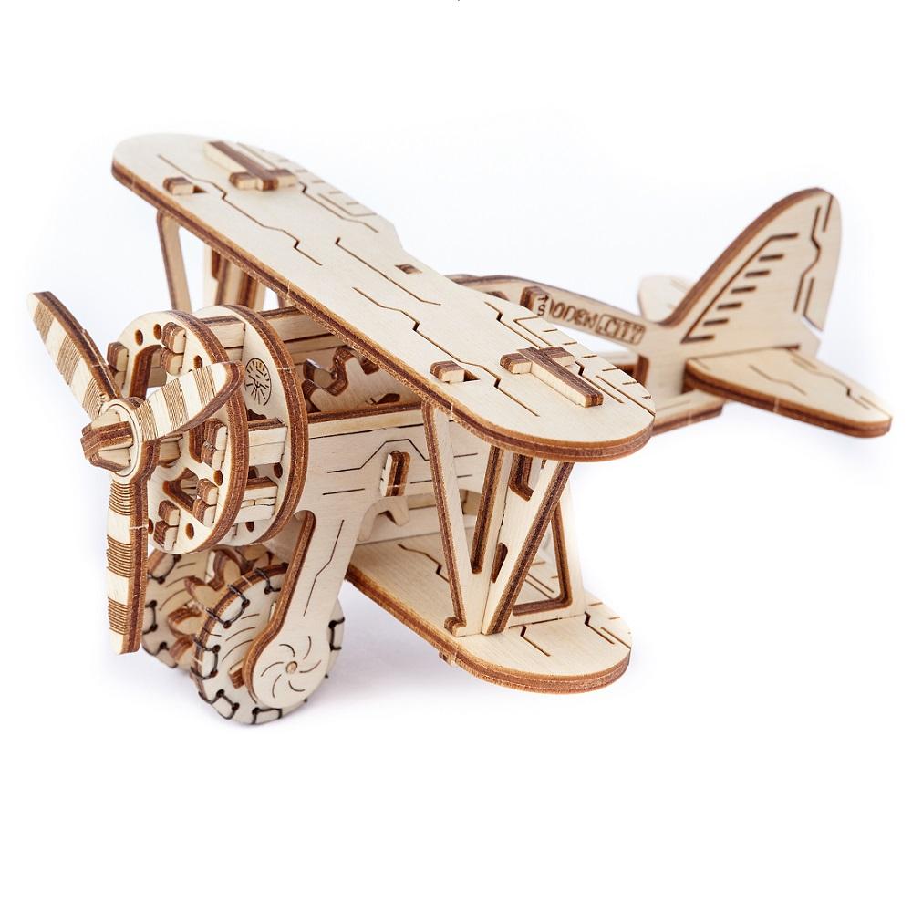 WOODEN CITY 動力模型 - 螺旋槳飛機