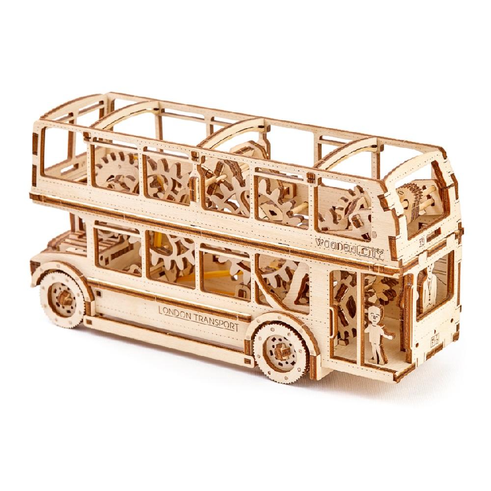 WOODEN CITY|動力模型 - 倫敦巴士