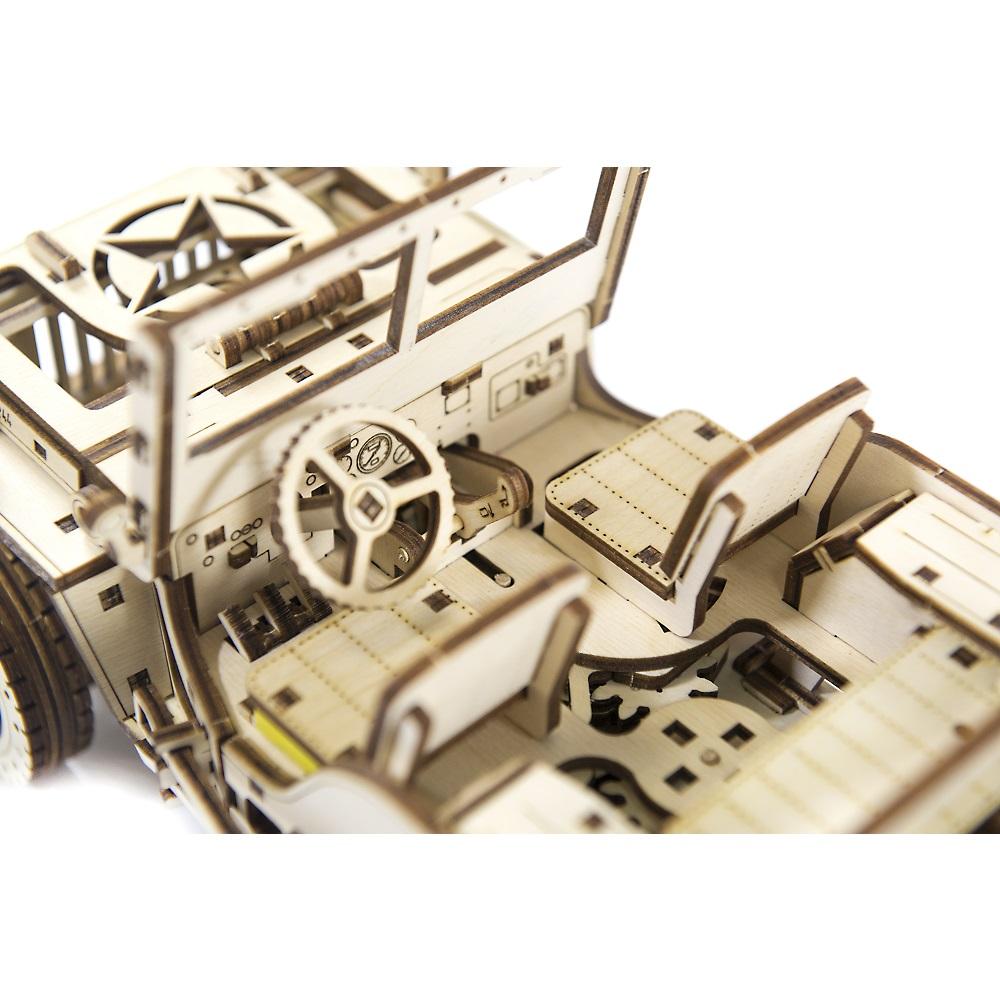 WOODEN CITY|動力模型 - 威力吉普車