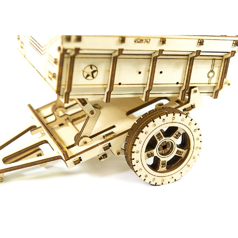 WOODEN CITY|動力模型 - 吉普車貨斗