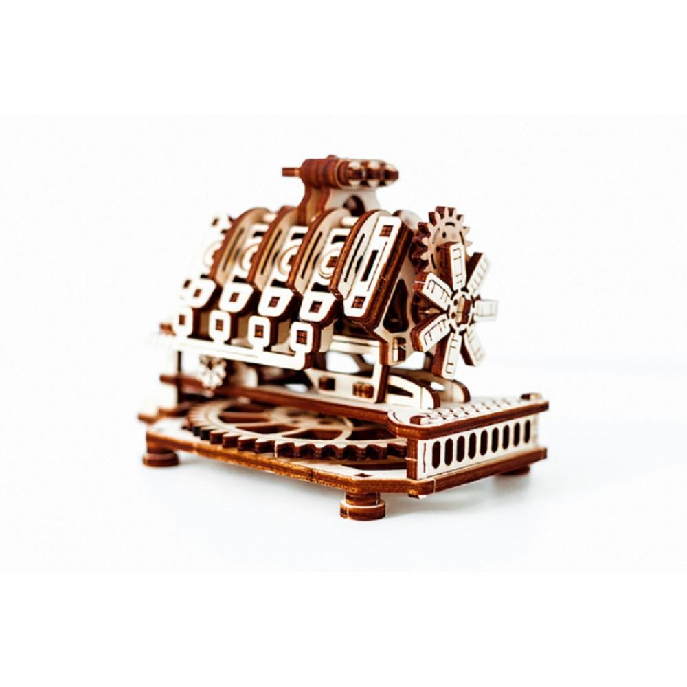WOODEN CITY|動力模型 - V8引擎