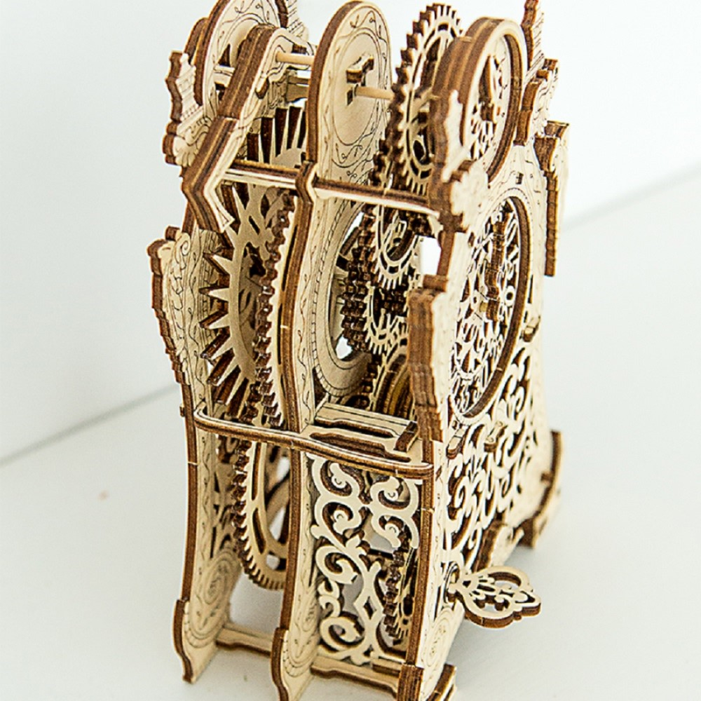 WOODEN CITY|動力模型 - 巴洛克造型鐘