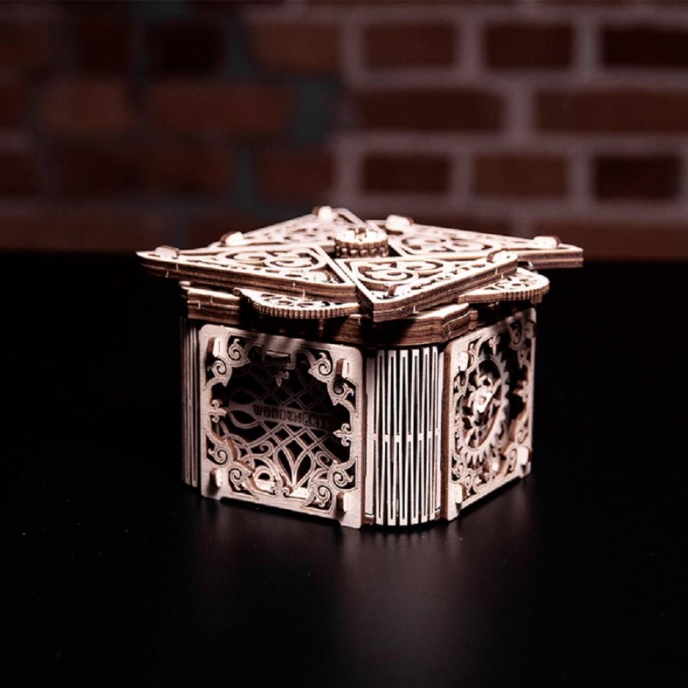 WOODEN CITY|動力模型 - 魔力藏寶盒