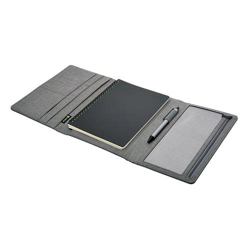 KACO|ALIO 商務A5筆記包 - 三層款 - 灰色