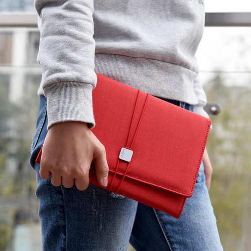 KACO|ALIO 商務A5筆記包 - 三層款 - 紅色