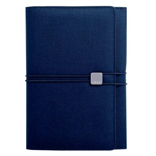 KACO|ALIO 商務A5筆記包 - 三層款 - 藍色