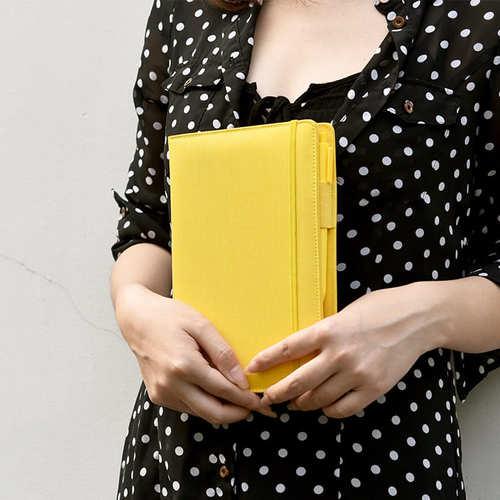 KACO|MEMORY 彩虹筆記包 - 雙層款 - 黃色