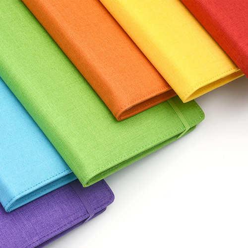 KACO|MEMORY 彩虹A5筆記包 - 雙層款 - 綠色