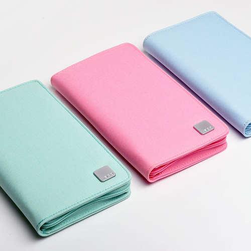 KACO|ALIO 商務旅行包 - 粉藍色