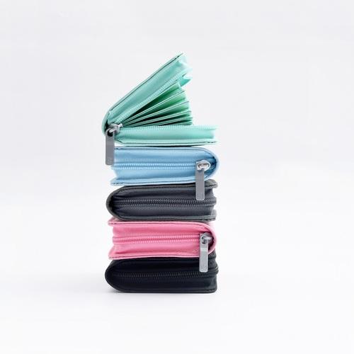 KACO ALIO 商務卡片包 - 粉藍色