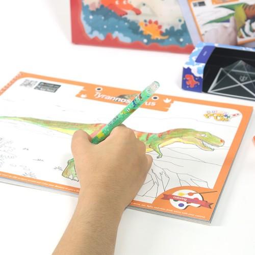 VUIDEA|AR兒童英語教學繪本/恐龍樂園/恐龍組合