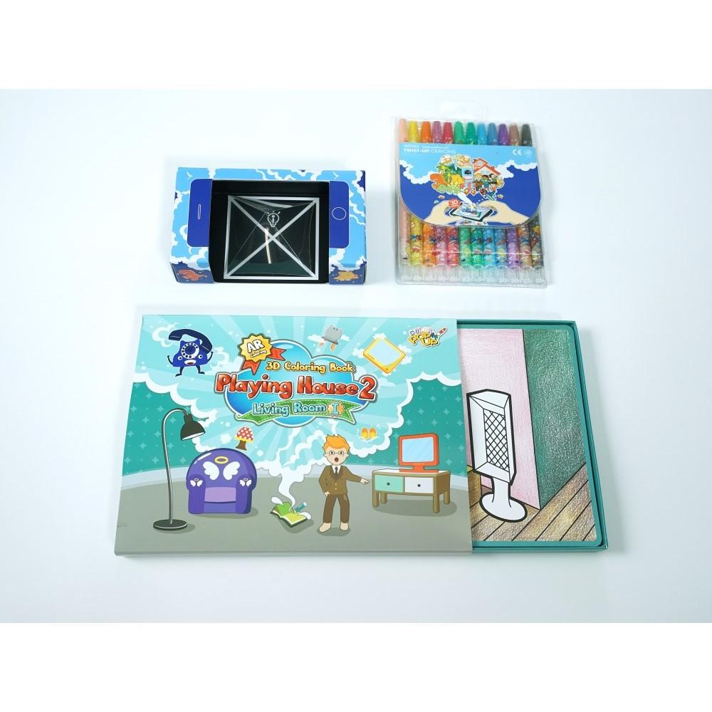 VUIDEA|AR兒童英語教學繪本/遊戲屋/歡樂客廳