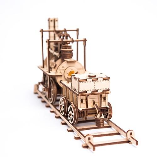 WOODEN CITY|動力模型 - 蒸汽火車頭