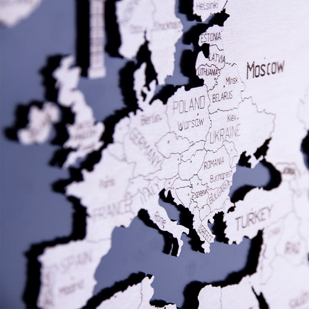 WOODEN CITY|動力模型 - 世界地圖 - XXL