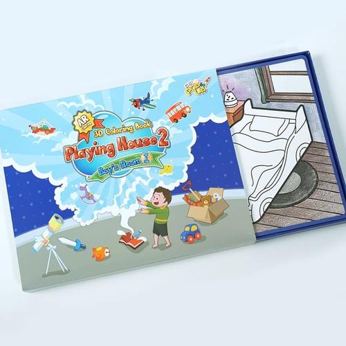VUIDEA|AR兒童英語教學繪本/遊戲屋/男生組合