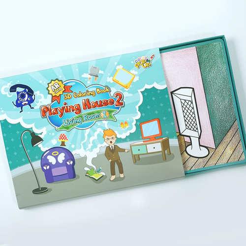 VUIDEA AR兒童英語教學繪本/遊戲屋/男生組合