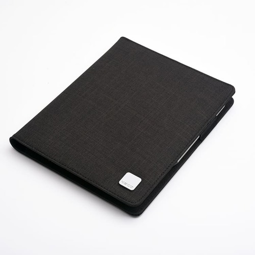 KACO|ALIO 商務A5筆記包 - 雙層款 - 黑色