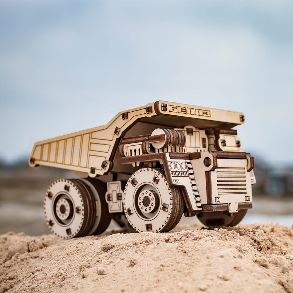 EWA|動力模型 - 巨無霸採礦車 MINI