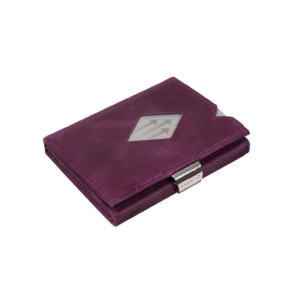 EXENTRI 挪威紳士皮夾 - 經典款 - 紫色