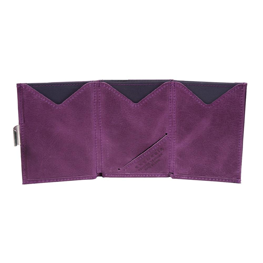 EXENTRI|挪威紳士皮夾 - 經典款 - 紫色