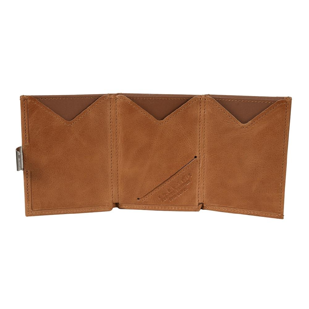 EXENTRI 挪威紳士皮夾 - 經典款 - 亮棕色