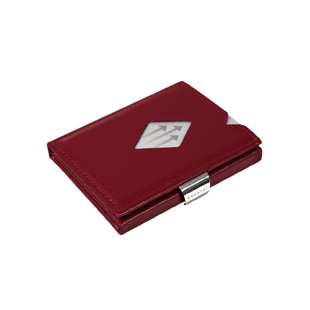 EXENTRI|挪威紳士皮夾 - 經典款 - 朱紅色