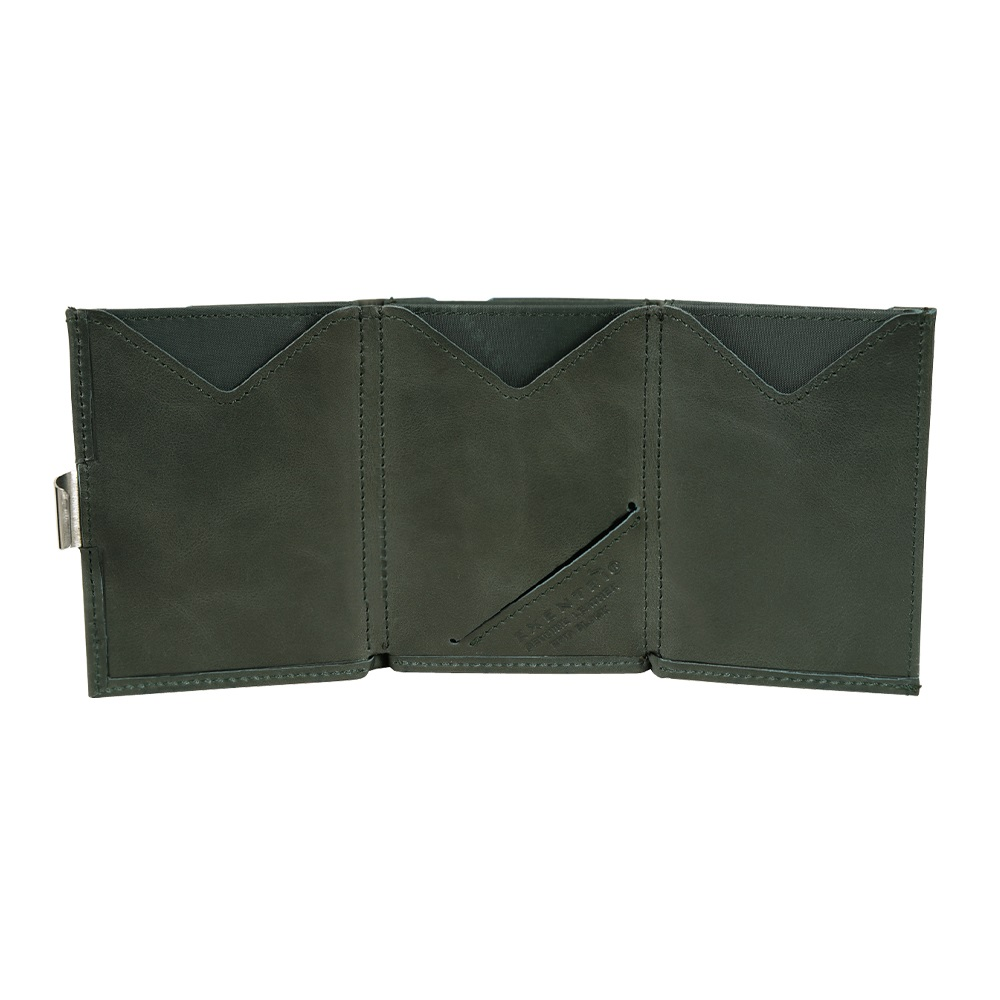 EXENTRI|挪威紳士皮夾 - 經典款 - 墨綠色