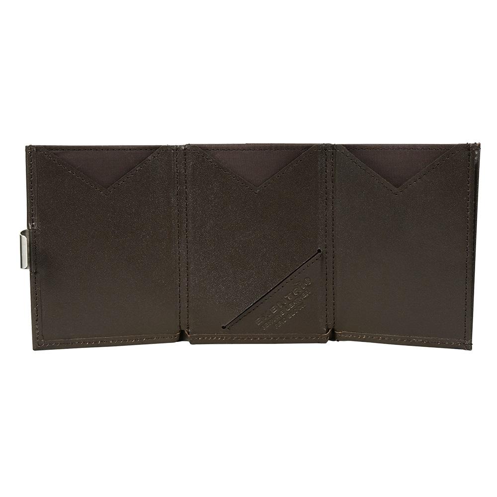 EXENTRI 挪威紳士皮夾 - 經典款 - 深棕色