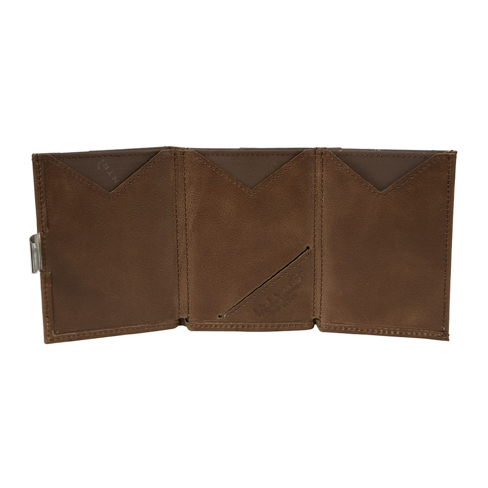 EXENTRI|挪威紳士皮夾 - 經典款 - 榛果色