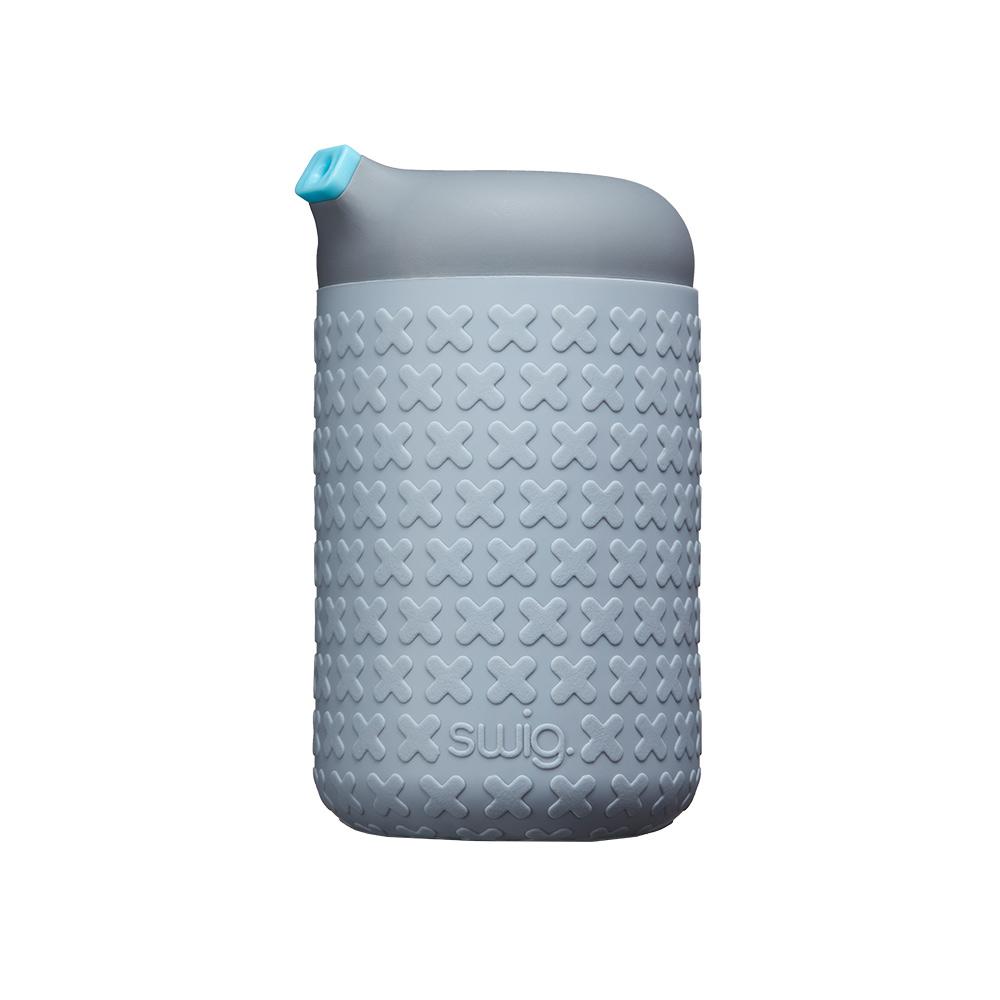 SWIG  企鵝咖啡杯 H/灰/灰/粉藍