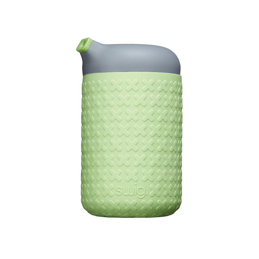 SWIG  企鵝咖啡杯 D/綠/灰/綠