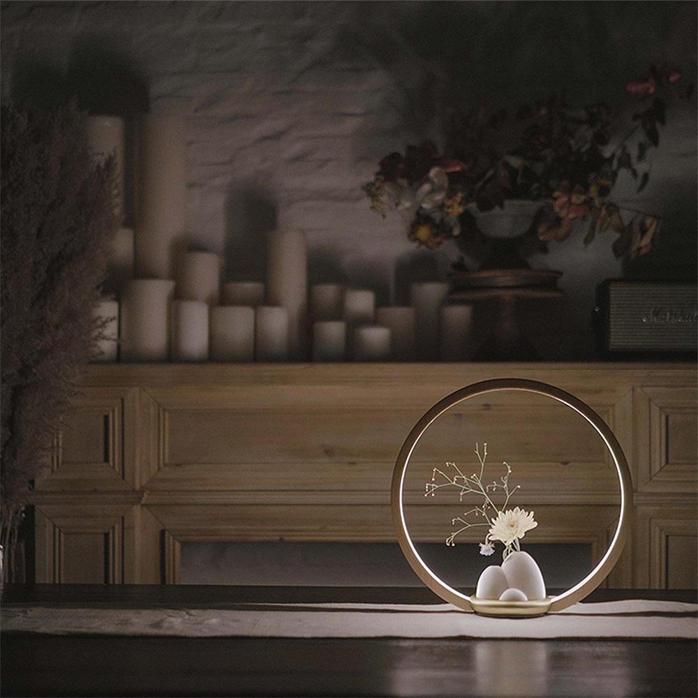 FOOKOO 一抹光景 LED檯燈/原木款 - 一枝瓶