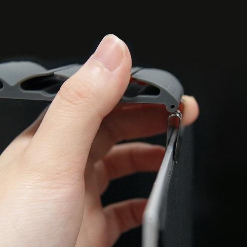 Flipclip 翻轉筆夾 - 灰色
