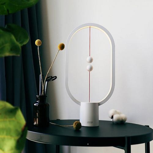 ZAN DESIGN HengPRO 衡 LED檯燈 2.0 烤漆款 - 橢圓形 - 白色