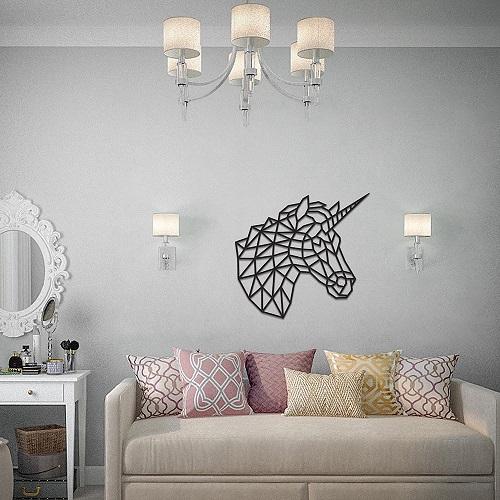 EWA|實木壁飾 -  魔幻獨角獸