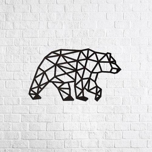 EWA 實木壁飾 -  北極熊