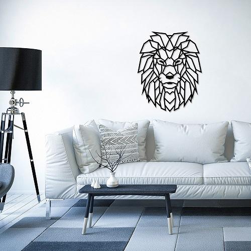 EWA|實木壁飾 -  萬獸之王