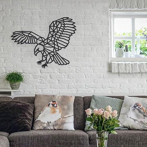 EWA 實木壁飾 -  美利堅之鷹